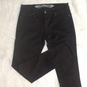 Express black Stella jean leggings size 12 reg fit